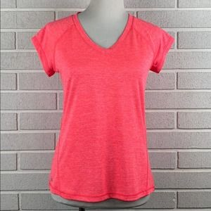 Ideology Womens Pink Active Wear Top Size Small